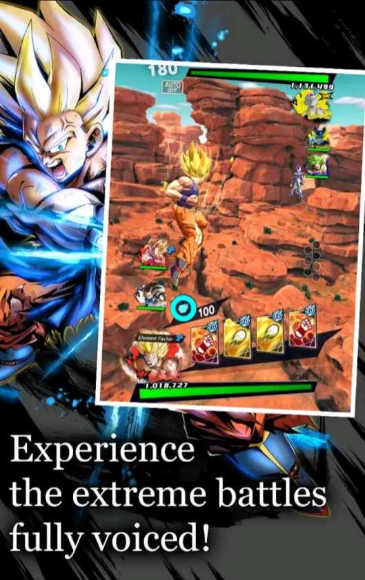Dragon Ball Legends Mod Apk Screen2