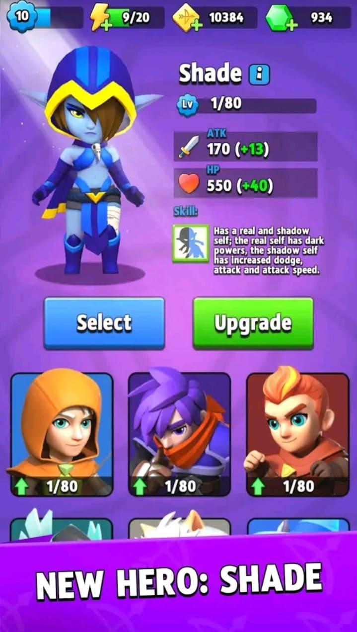 archero mod apk screen2