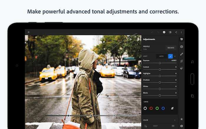 Adobe Photoshop Lightroom mobile premium