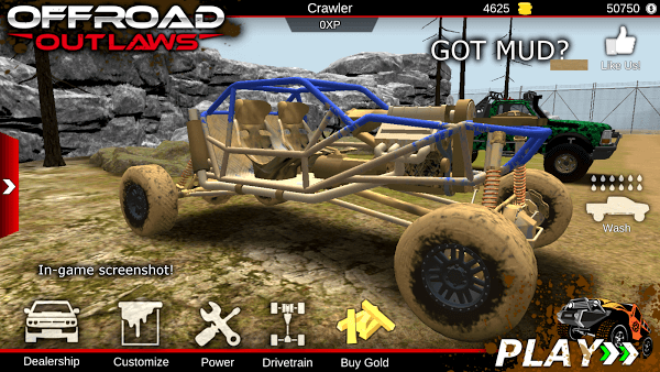 Offroad Outlaws (MOD, Unlimited Money)