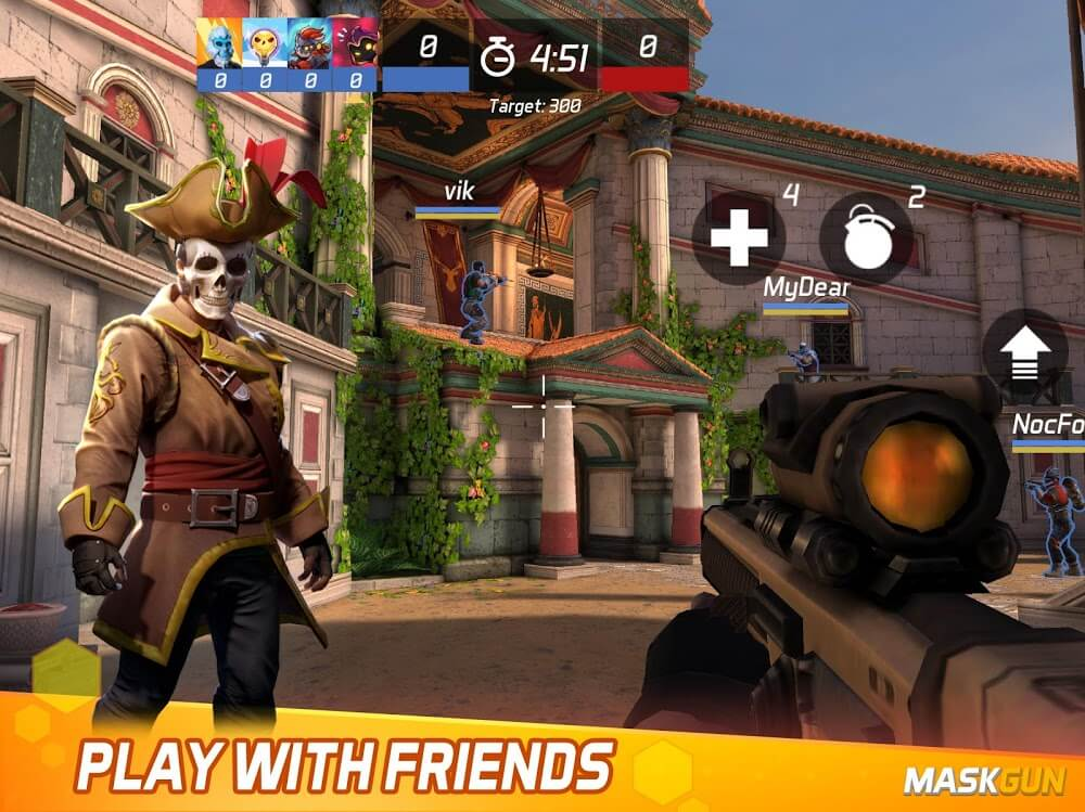 Mask Gun Mod Apk Free Download For Android