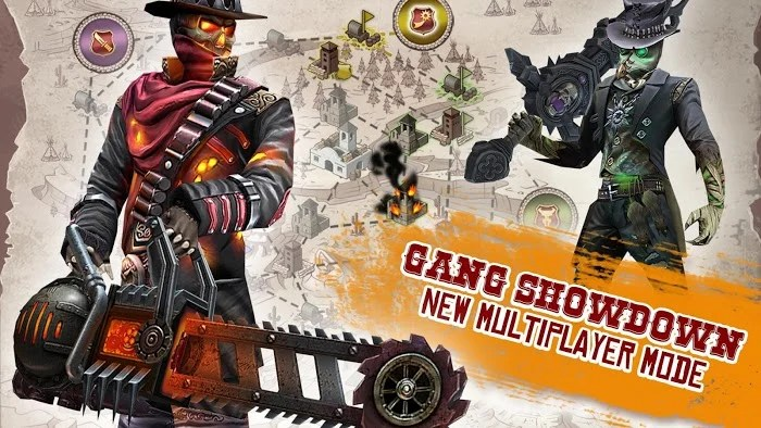 six-guns apk + data + mod + obb