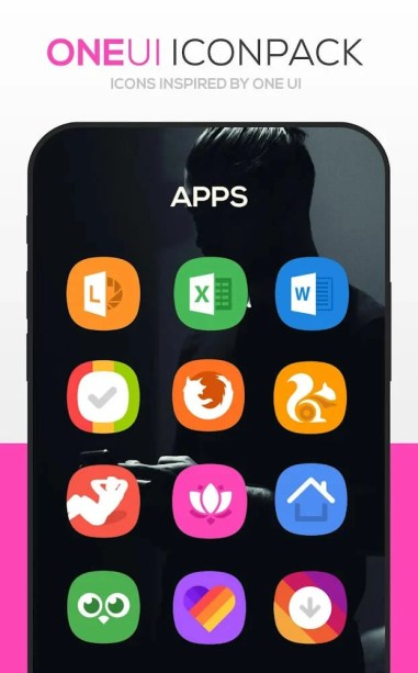ONE UI Icon Pack Download For Android