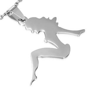 RVS kettinghanger Stripper inclusief ketting