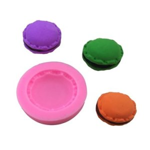 Silicone Macarons Cake Fondant Mold Cookies Chocolate Mold DIY Pastry Baking Decorating Bakeware