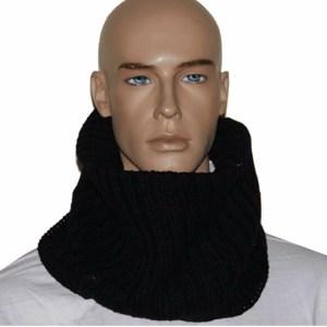 Sjaal North-Wick zwart voor heren