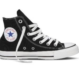 Converse All Stars Hoog Zwart (Mt 35 t/m 46)-35