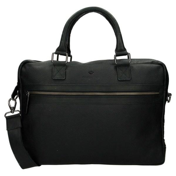 Micmacbags Montana laptoptas 15,6 inch zwart