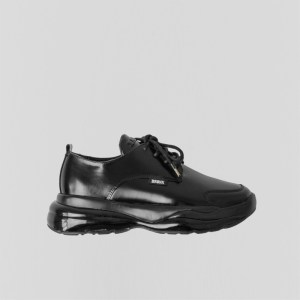 Bronx Bubbly Sneaker Patent leather Black , Size 40