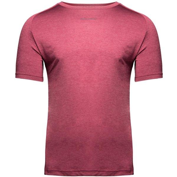 Bodybuilding T-Shirt Mannen Bordeaux Rood - Gorilla Wear Taos