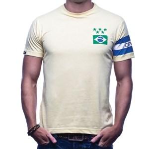 COPA Football - Brazilië Capitao T-Shirt - Geel