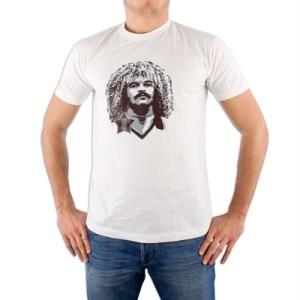 Spielraum - Carlos Valderrama T-shirt - Wit