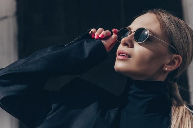 Een zonnebril als eyecatcher