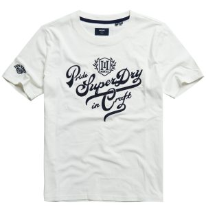 Superdry Superdry Logo T-shirt Pride in Craft Tee W1010646A