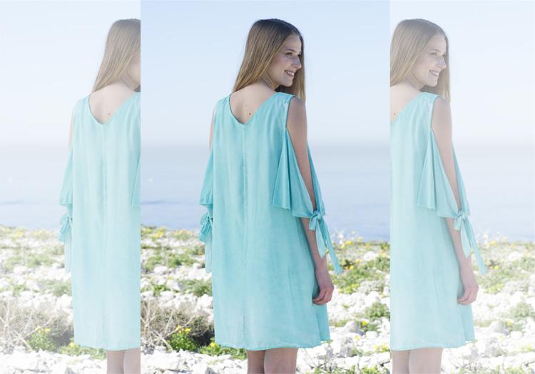 Pastell Kleid Modetrend