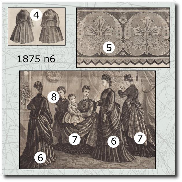 robe en vigogne 1875