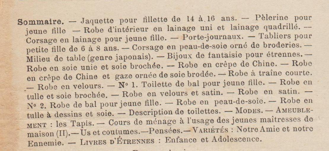 mode illustree 1889 51 sommaire