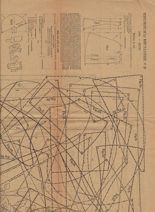 tabliers brodés 1894