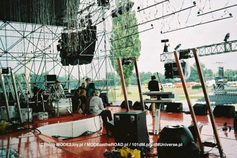 Budowa Sceny, koncert w Warszawie 2001.09.02