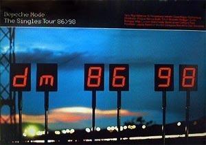 Plakat The Singles 86>98 Tour