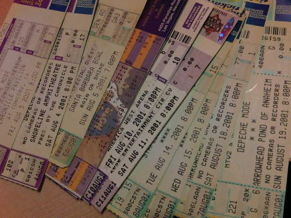 Bilety na trasę Exciter