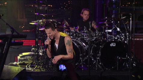 depeche MODE at Live on Letterman 2013.04.03