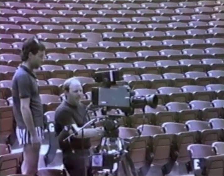 Kamery na koncercie depeche MODE // Irvine Meadows 1986