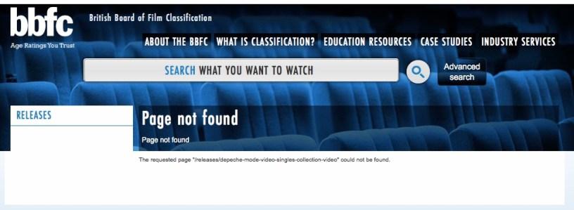 BBFC - strona nie znaleziona.
