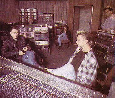 depeche MODE w Studio 1984