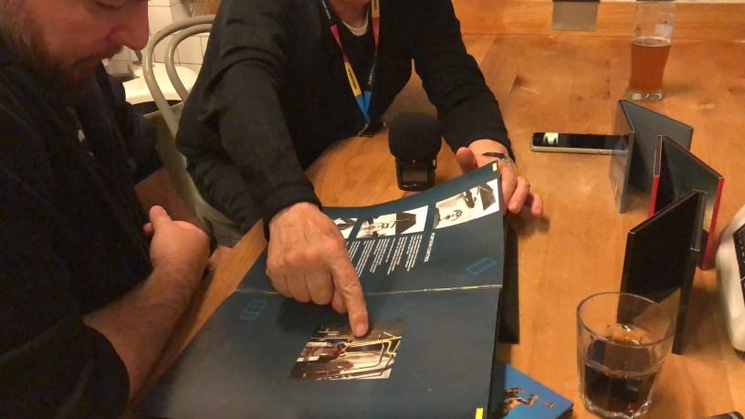Brian Griffin o współpracy z depeche MODE