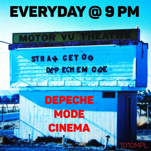 depeche MODE cinema