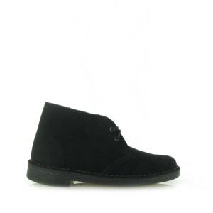 Desert Boot Black Sde Zwart