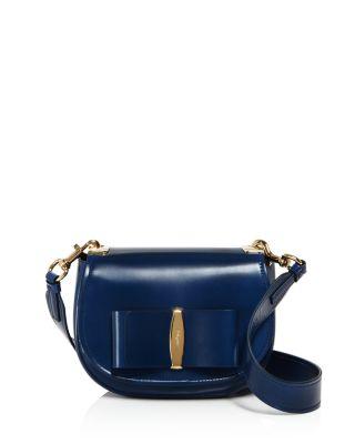 Salvatore Ferragamo – Anna Leather Saddle Bag 5152f15115270