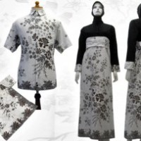 model baju batik anak modern