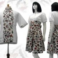 DRESS BATIK SOLO MAUPUN PEKALONGAN