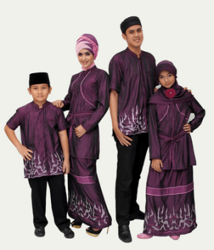Model Busana Muslim Keluarga Untuk Pesta Elegan