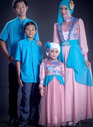 Model baju muslim Family Gathering Terbaru