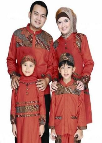 Model Baju Keluarga Untuk Lebaran Modern Terbaru