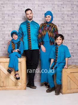 Model Busana Muslim Keluarga Untuk Pesta Pernikahan Elegan