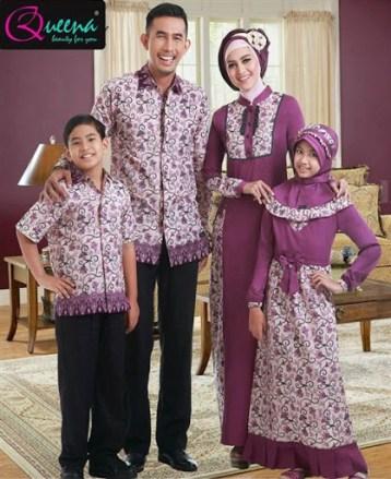 Model baju sarimbit keluarga plus anak terbaru
