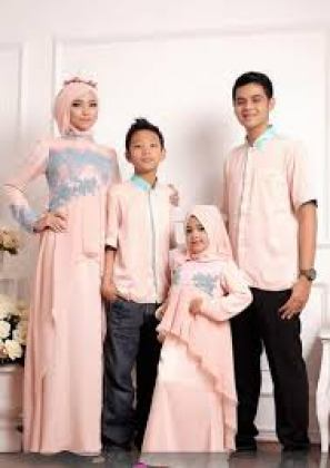 Model baju muslim sarimbit keluarga tanah abang Terbaru