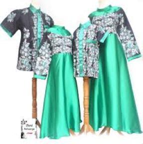 Model Baju Serambit keluarga Terbaru