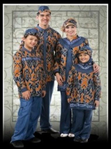 model baju batik Seragam Keluarga Suami dan istri terbaru