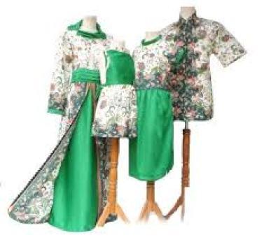 model baju batik Couple ibu dan Ayah terbaru