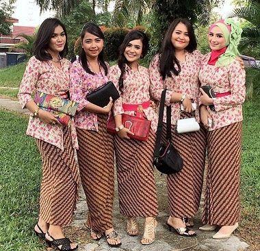 Model Baju Batik Solo Seragam Kantor Terbaru