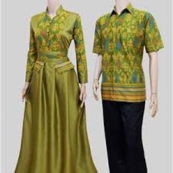 Model Baju Batik Keluarga Seragam Pernikahan Terbaru