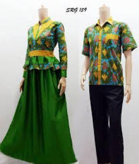 model seragam batik Kerja Modern Terbaru