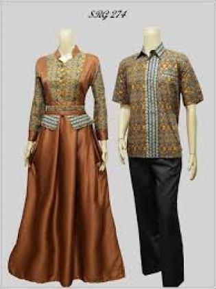 Model baju Batik Seragam keluarga untuk kondangan terbaru
