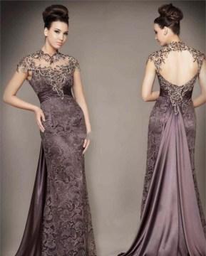 Model Dress Pesta Brokat Mewah dan Elegan Terbaru