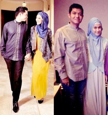 Model Baju Muslim Keluarga Artis Terbaru
